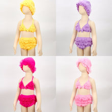 Load image into Gallery viewer, Layla ruffle tutu bikini and hat