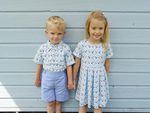 Load image into Gallery viewer, NEW SS19 Rachel Riley Boys Nautical Polo shirt