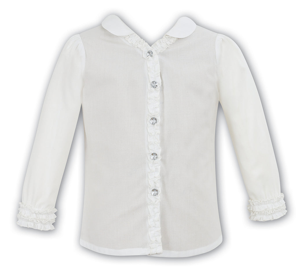 Sarah Louise Previous Season SALE - Ivory Blouse 9579