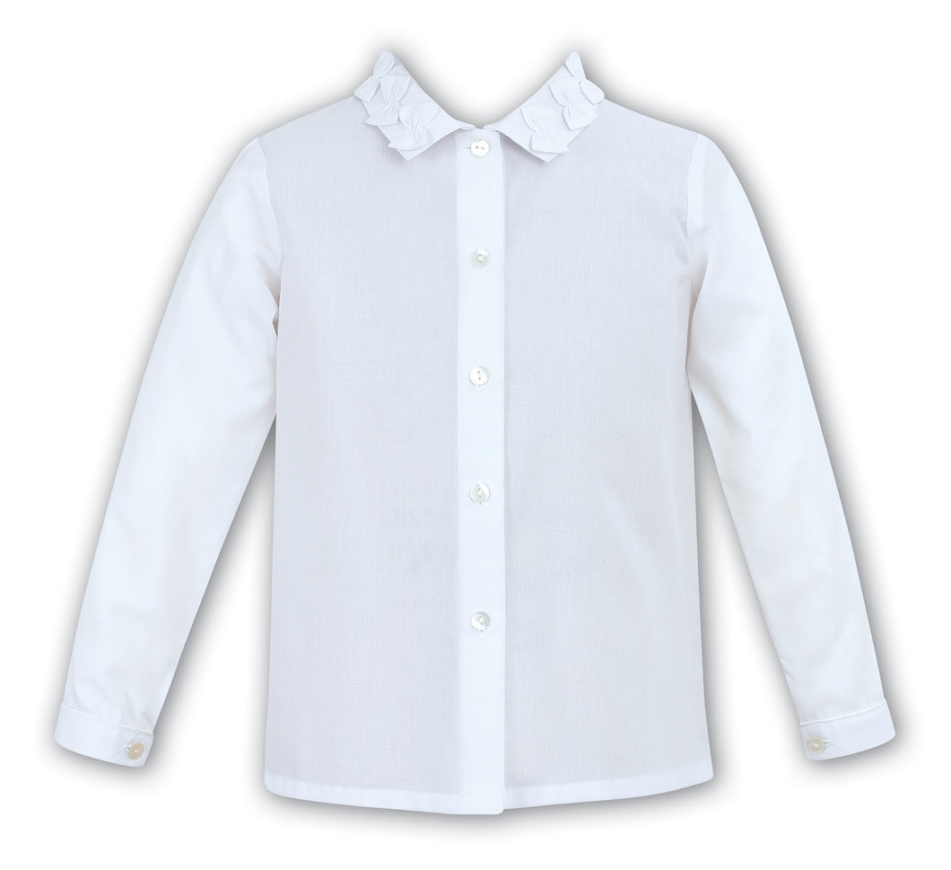 Sarah Louise Previous Season SALE - White Blouse 9585