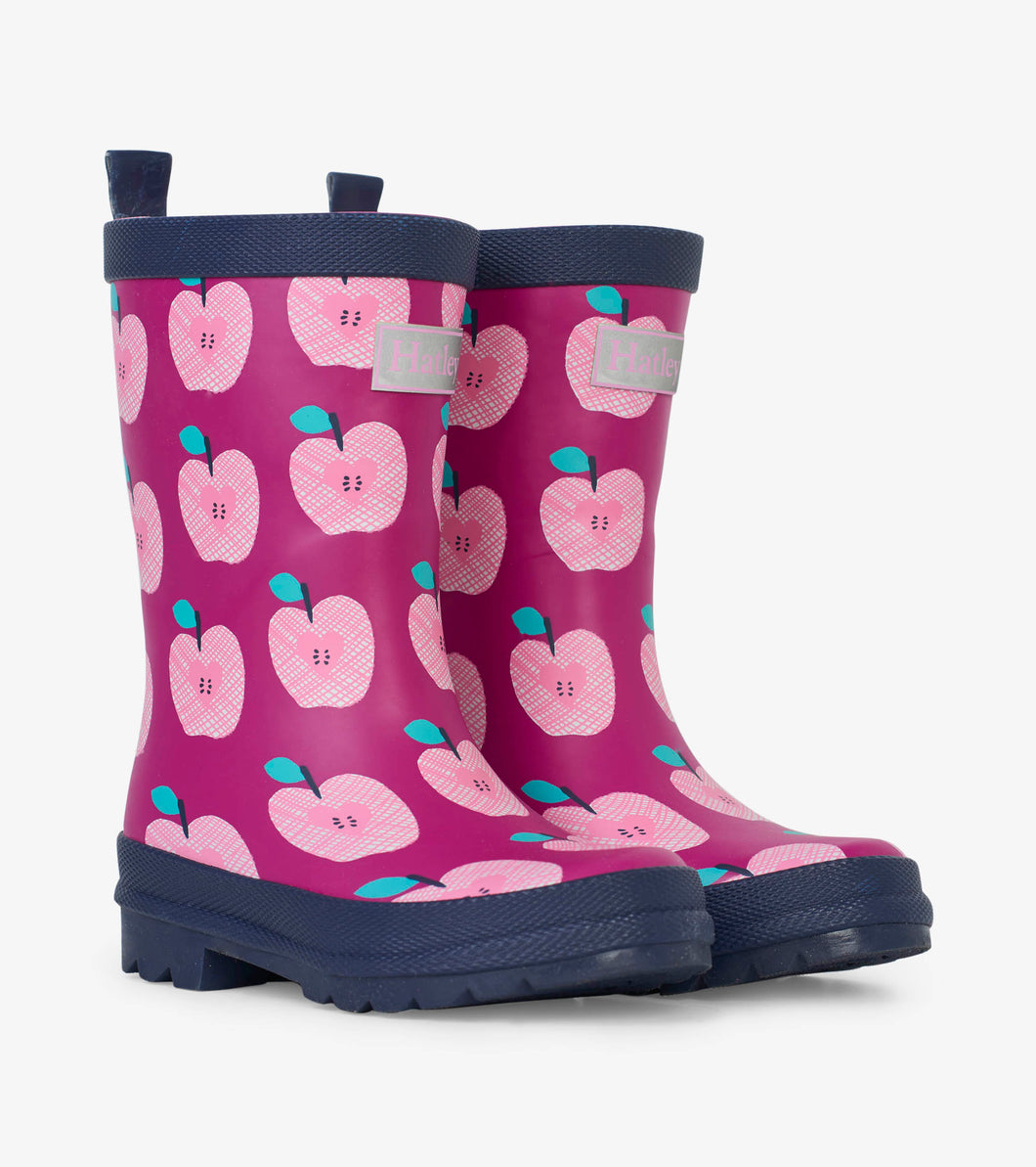 NEW AW19 Hatley Apple Orchard Rain Boots