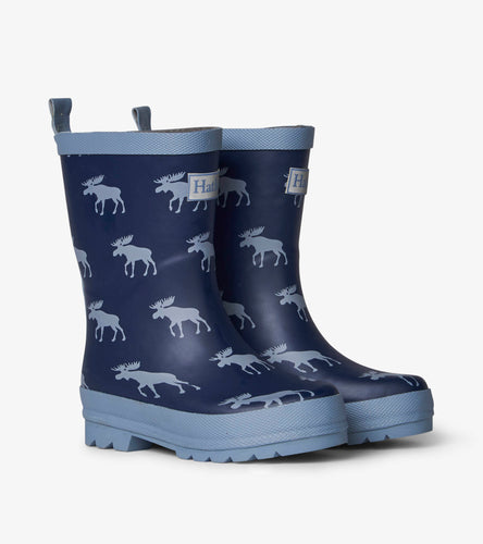 NEW AW19 Hatley Moose Silhouttes Rain Boots