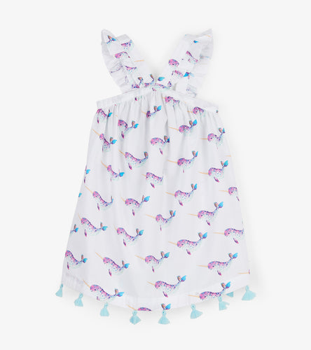 NEW SS19 Hatley Narwhale sun dress