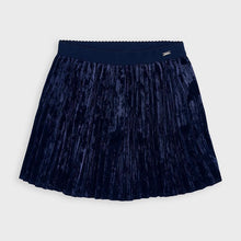 Load image into Gallery viewer, NEW AW20 Mayoral Navy Pleated Skirt 4955