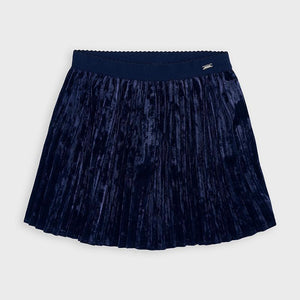 NEW AW20 Mayoral Navy Pleated Skirt 4955