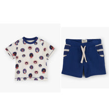 Load image into Gallery viewer, NEW SS19 Hatley Pirate Portraits shorts set