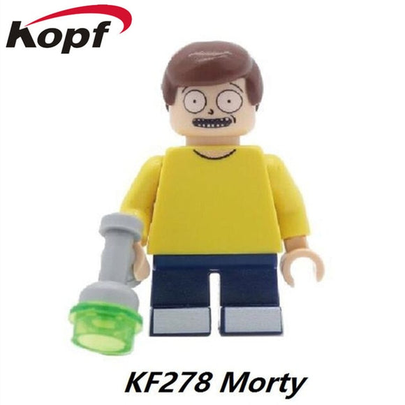 Rick And Morty - Lego Morty