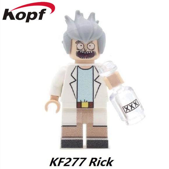 Rick and Morty - Lego Rick