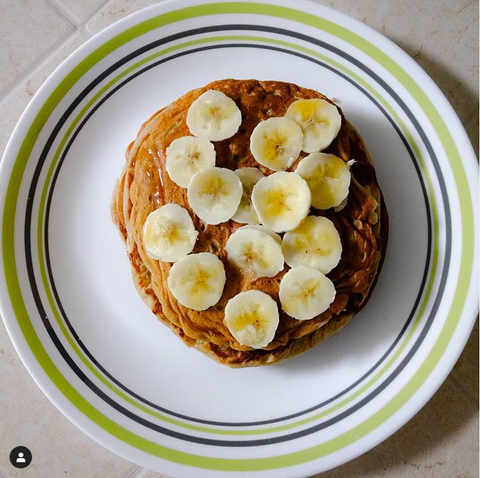 Pan cake with Nutrimake
