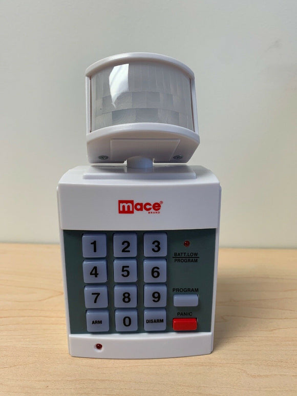 Burglar Alarm PIR Motion Detector Alarm with Digital Keypad, Panic Button, Wireless Installation