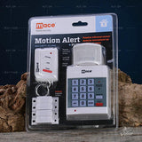 Burglar Alarm PIR Motion Detector Alarm with Remote Control, Digital Keypad, Panic Button, Wireless