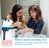 Automatic Soap Dispenser, Kids Touchless Foaming Soap Dispenser Rechargeable Hand Free Countertop Soap Dispensers for Bathroom Kitchen (Panda Bear) by KinderGard®