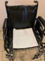 bed pad different configuration shown on wheel chair