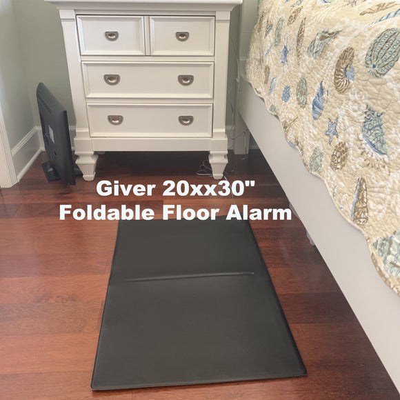 20x30 folding floor pressure sensitive alarm system