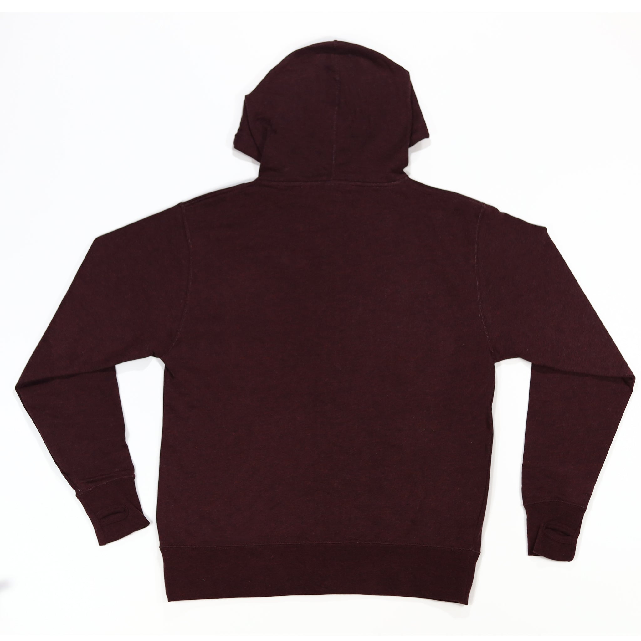 MAROON FRENCH TERRY ZIP