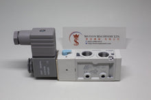 "Load image into Gallery viewer, Mindman MVSC-220-4E1 AC220V Solenoid Valve 5/2 1/4"" BSP (Made in Taiwan)"