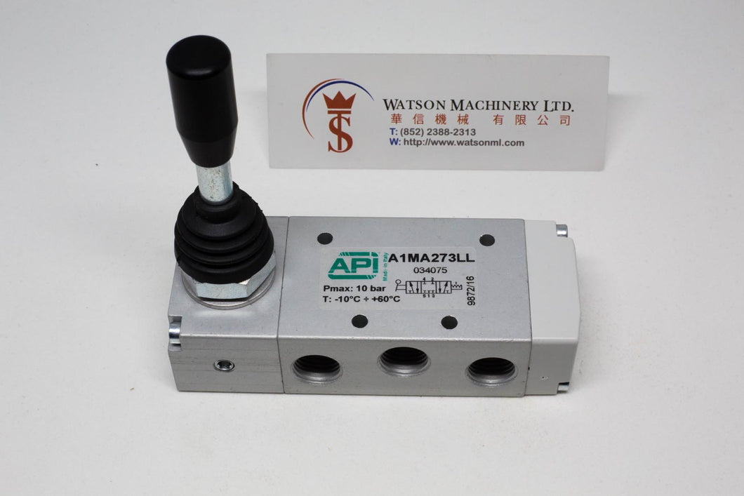 API A1MA273LL Manual Valve 1/4