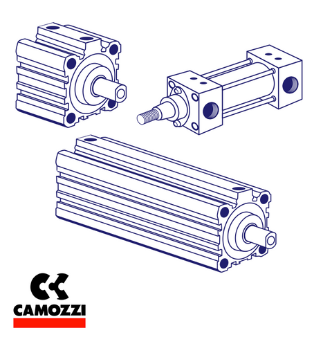 Camozzi B 41 40 Mod B, Foot Mounting (Pair), ISO & VDMA to suit 24, 32, 60 & 61 Series Cylinder