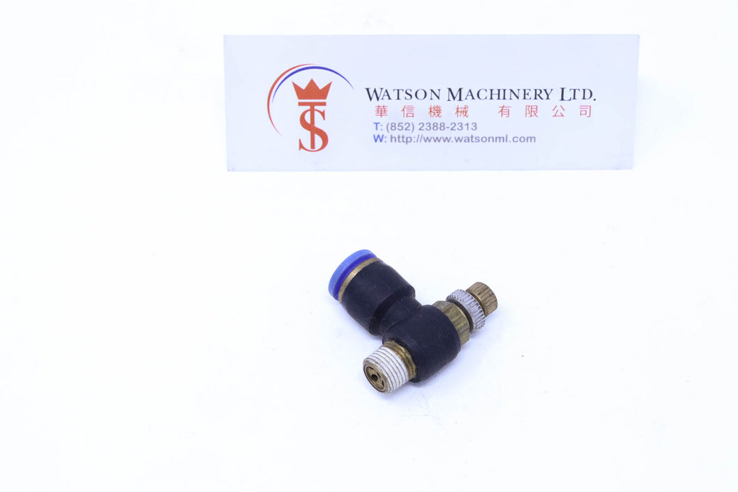 (CTF-8-01) Watson Pneumatic Fitting Flow Control 8mm to 1/8