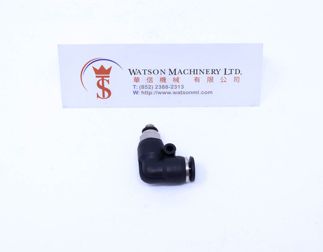 (CTL-6-M5) Watson Pneumatic Fitting Elbow Push-In Fitting 6mm to M5 Thread (Made in Taiwan)