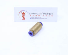 Load image into Gallery viewer, (CTM-6) Watson Pneumatic Fitting Bulkhead Union Push-in 6mm (Made in Taiwan)