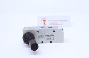 "API A1MA150LL Manual Valve 1/8"" (Automatic Spring Return) (Made in Italy) - Watson Machinery Hydraulics Pneumatics"
