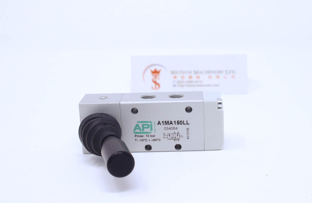 API A1MA150LL Manual Valve 1/8