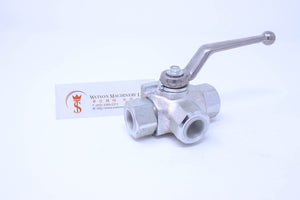 Tognella 221/3-12 3 Way Ball Valve