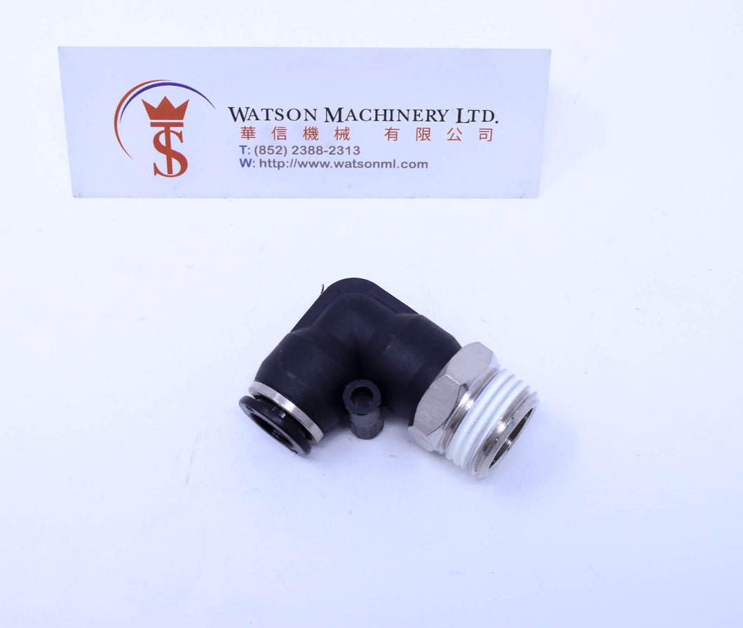 (CTL-12-02) Watson Pneumatic Fitting Elbow Push-In Fitting 12mm to 1/4