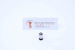 (CTC-4-M5 ) Watson Pneumatic Fitting Straight Connector Push-In Fitting 4mm to M5 (Made in Taiwan)