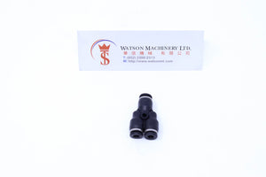 (CTY-4) Watson Pneumatic Fitting Union Branch Y 4mm (Made in Taiwan)