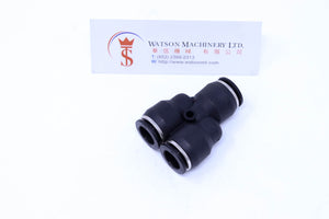 (CTY-12) Watson Pneumatic Fitting Union Branch Y 12mm (Made in Taiwan)
