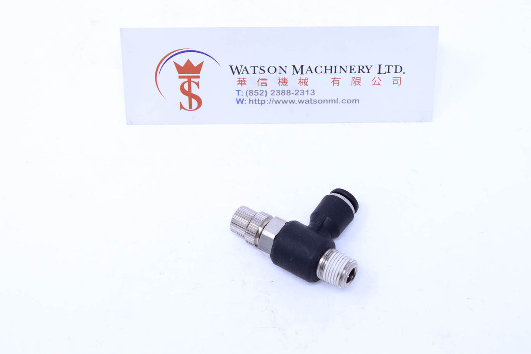 (CTF-6-01) Watson Pneumatic Fitting Flow Control 6mm to 1/8