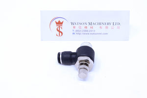 "(CTF-6-02) Watson Pneumatic Fitting Flow Control 6mm to 1/4"" (Made in Taiwan)"