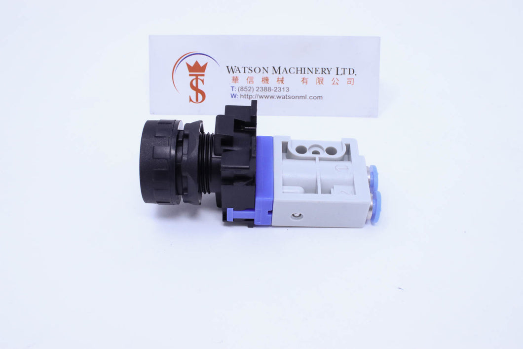 API AM04132C Mechanical Valve  Ø4 NC (Made in Italy) - Watson Machinery Hydraulics Pneumatics