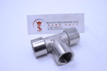 Load image into Gallery viewer, API A02312 Standard Pneumatic Fitting (Nickel Plated Brass) (Made in Italy) - Watson Machinery Hydraulics Pneumatics