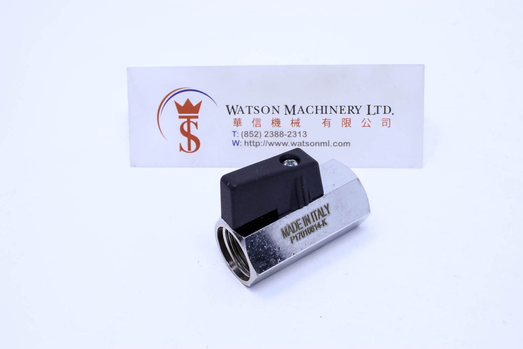 API 3MVSFF Ball Valve (Made in Italy) - Watson Machinery Hydraulics Pneumatics
