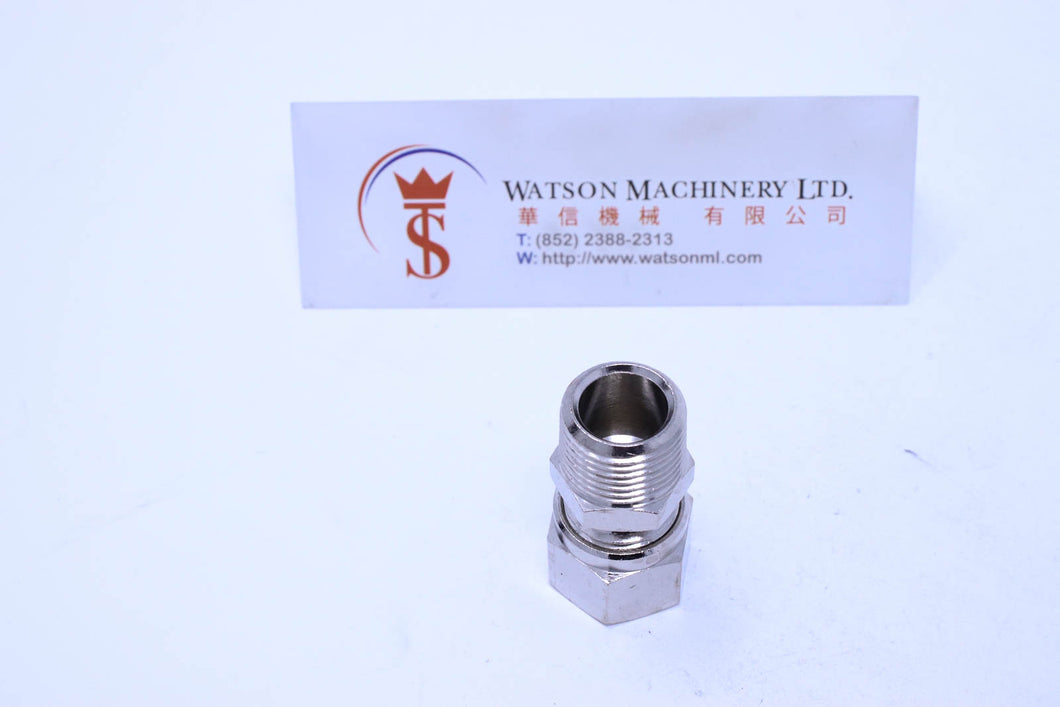 API O111038 Compression Fitting BSPT Stud 3/8