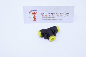 "(CTE-1/4) Watson Pneumatic Fitting Union Branch Tee 1/4"" BSP (Made in Taiwan)"