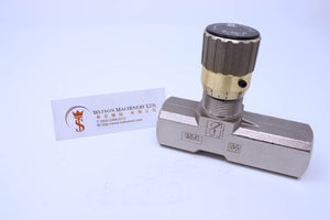 Tognella 1251/5-01-34 210 bar 1 way Needle Valve Flow Control