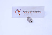 "Load image into Gallery viewer, HB040618 6mm to 1/8"" Straight Parallel Male Brass Push-In Fitting"