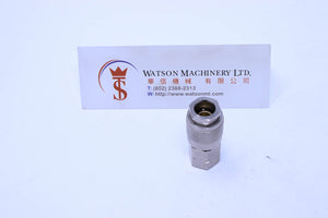 "HGU2001F14 1/4""  Female mini Socket Fitting"
