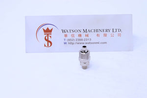 API C1206M5 Rapid Fittings (Nickel Plated Brass) (Made in Italy) - Watson Machinery Hydraulics Pneumatics