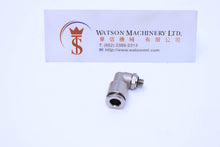 Load image into Gallery viewer, API R4106M5 Elbow to M5 Push-in Fitting (Nickel Plated Brass) (Made in Italy) - Watson Machinery Hydraulics Pneumatics