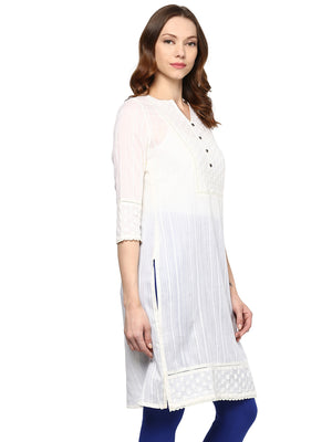 Birch Self-Design Kurta