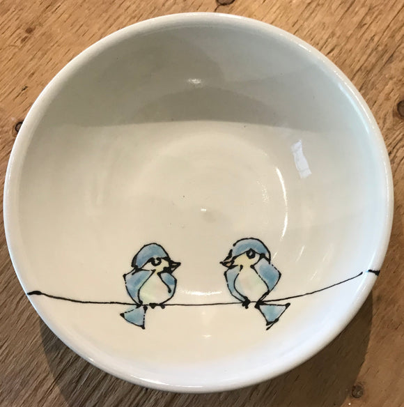 Birds on a Wire Soup bowl