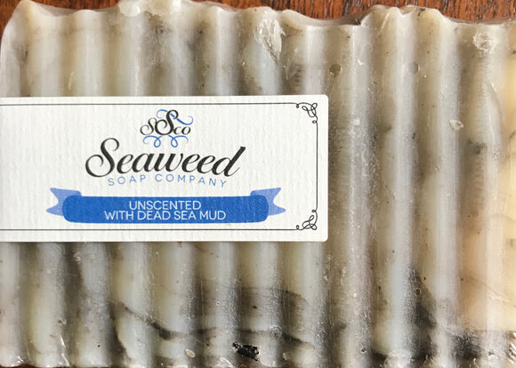 Unscented with Dead Sea Mud Soap