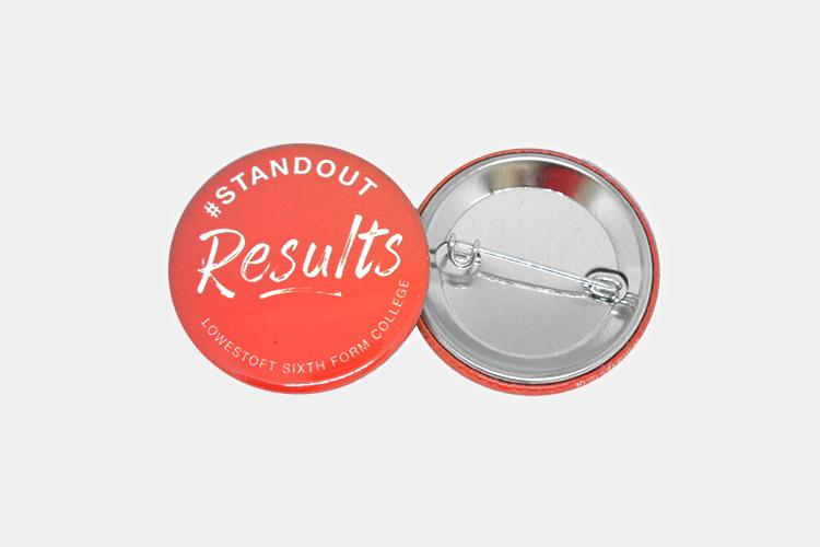 Enamel Badges - 38mm Button Badges