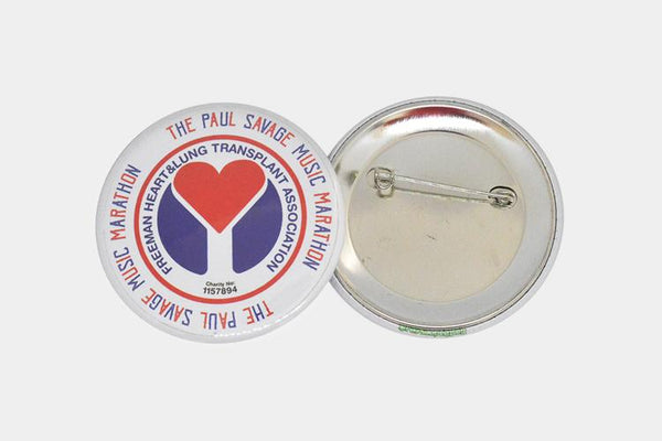 Enamel Badges - 58mm Button Badges