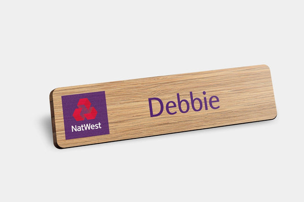 Name Badges - Bamboo Name Badges